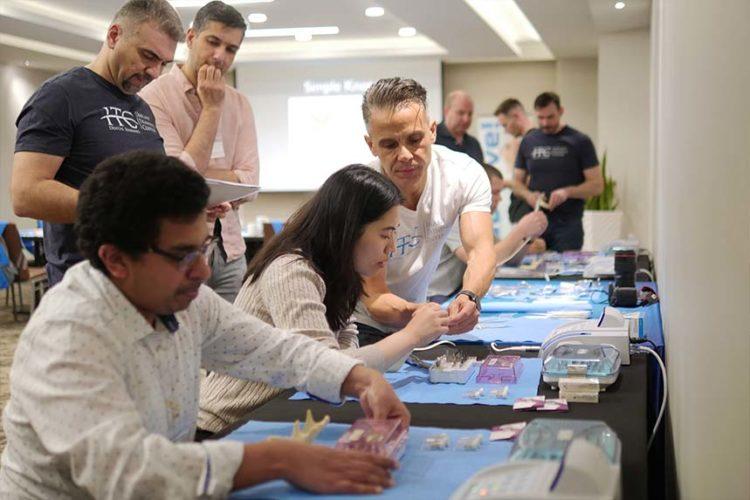 dental implant course live patient 2020